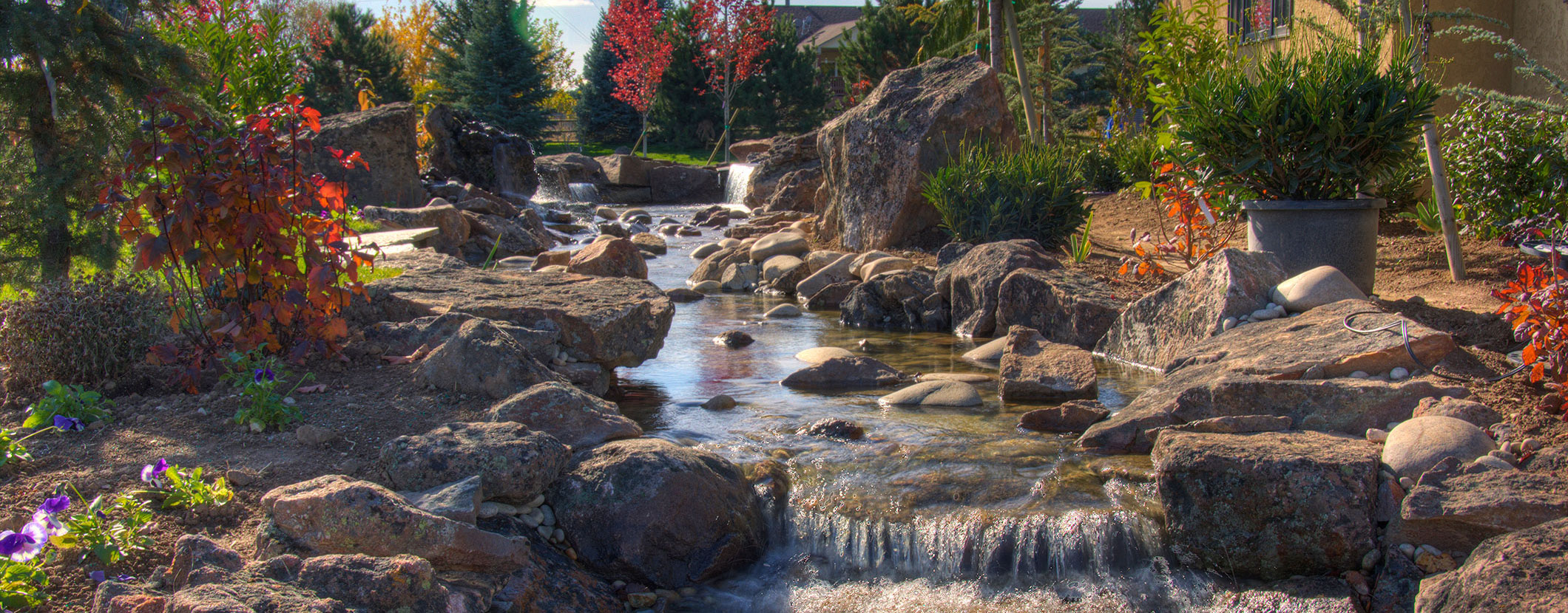 Strickland Stone Water feature with Boulders